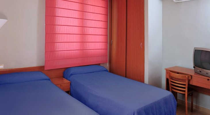 The  AS Hotels Chucena has 14 Twin rooms with twin ...